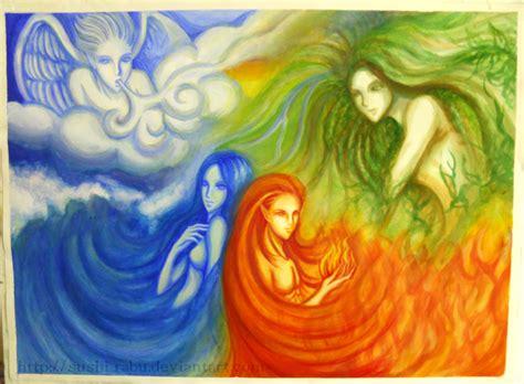 Les Quatre éléments  De La Magie Dans L'air