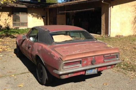Rs Garage by 1967 Chevrolet Camaro Rs Garage Find