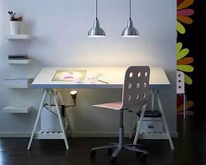 Bureau Architecte Ikea : mobilier table table d architecte ikea ~ Teatrodelosmanantiales.com Idées de Décoration