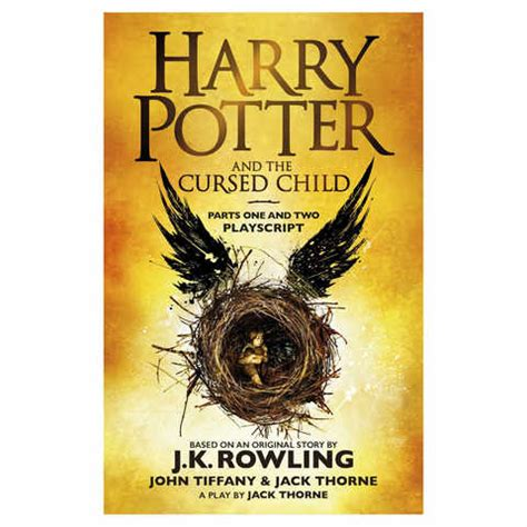 harry potter   cursed child  jk rowling book