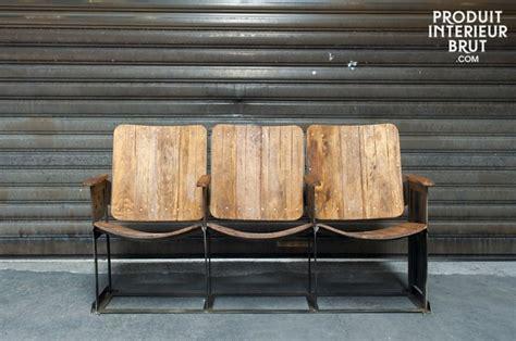 siege en bois produit intérieur brut mobilier et objets déco esprit vintage