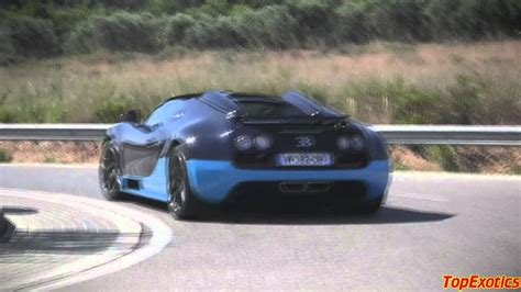 The first hyper sports car of modern times was a true pioneering achievement and wrote automotive history at its launch in 2005. Bugatti Veyron Vitesse - Full throttle launch, fast fly-by and more - YouTube