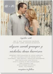 top 5 photo wedding invitations to set the mood for your big day - Photo Wedding Invitations