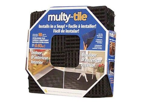 multy home interlocking multy tile 12 quot x 12 quot at menards