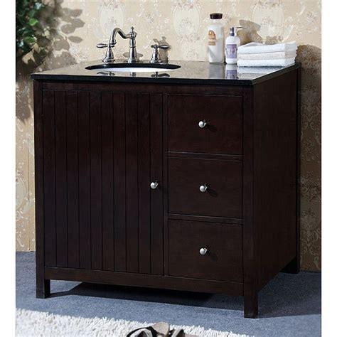 shop granite top   single sink bathroom vanity