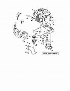 917 288900 Craftsman Lawn Tractor 25 Hp 48 Inch Mower