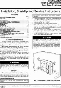 Carrier Air Conditioner  Heat Pump Outside Unit  Manual