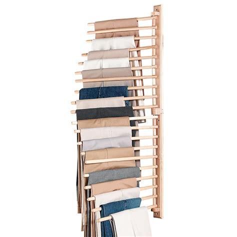 collectionsetc wall mount trouser pant closet organization