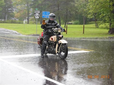 motorcycle rain motorcycle cannonball update day 2 riding in the rain