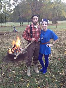 paul bunyan and babe the blue ox costume party ideas