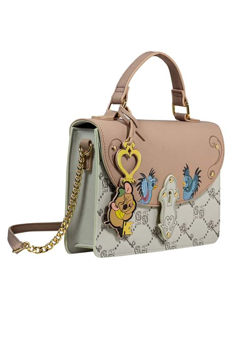 cinderella gus monogram danielle nicole crossbody purse