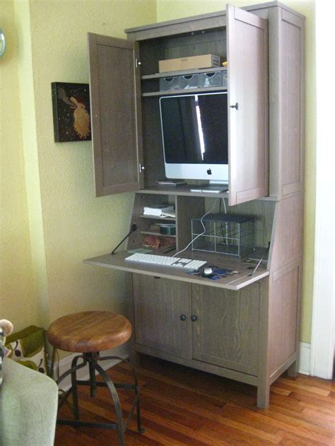 furniture simple computer cabinets   wood