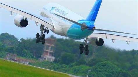 Perbandingan Cara Landing Pesawat Citilink vs Garuda
