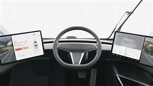 Tesla Semi Interior - YouTube