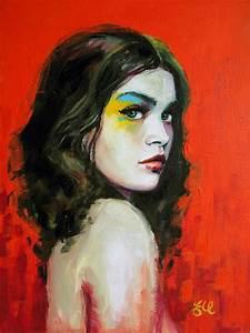 30 Contemporary Art Portraits Paintings | Portrait ...
