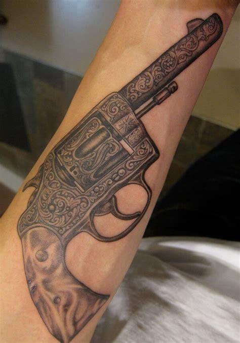 gun tattoos  men ideas  inspiration  guys