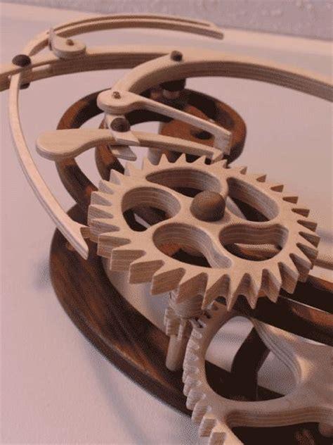 gears search  wooden clock  pinterest