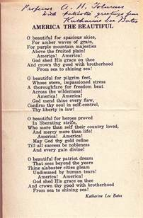 Famous American Poems About America