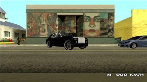 Gta San Andreas Luxury Car Showcase