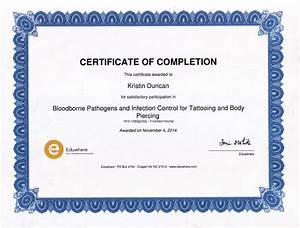 bloodborne pathogens certificate template free download With bloodborne pathogens policy template