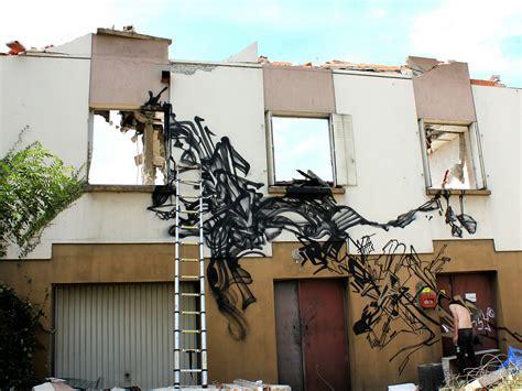 graffiti exploration urbaine avec rezine 224 lyon nadib bandi graffiti mural