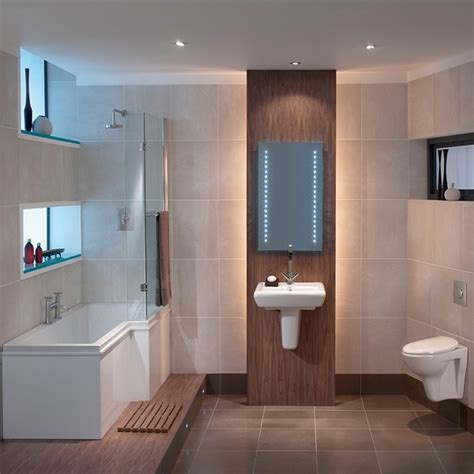 Contemporary Small Bathroom, Modern Bathroom Suite