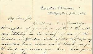 a long lost newly discovered letter written by abraham With abraham lincoln letter for sale