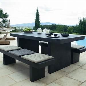 Mobilier Exterieur Design : mobilier exterieur en beton ~ Teatrodelosmanantiales.com Idées de Décoration