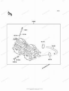Kawasaki Jet Ski 1995 Oem Parts Diagram For Carburetor