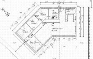 largeur couloir maison segu maison With idee maison plain pied 10 plan maison r 1 160 m2