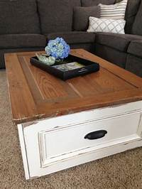 diy coffee table plans DIY Coffee Table with Storage   Free Plans   Rogue Engineer