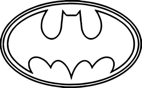 Coloring Pages Batman Logo Coloring Pages