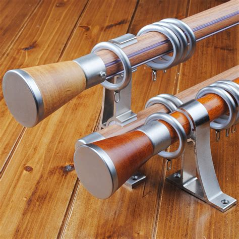 wood curtain rods wooden curtain rods and how to buy the right ones traba
