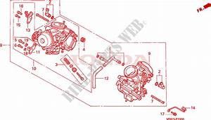 Carburetor  Assy   For Honda Vt 1100 Shadow C3 1998