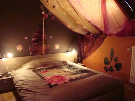 chambre style hindou décoration chambre hindou