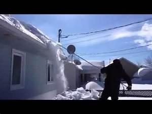 Pelle A Neige : gratte neige pour toiture youtube ~ Melissatoandfro.com Idées de Décoration