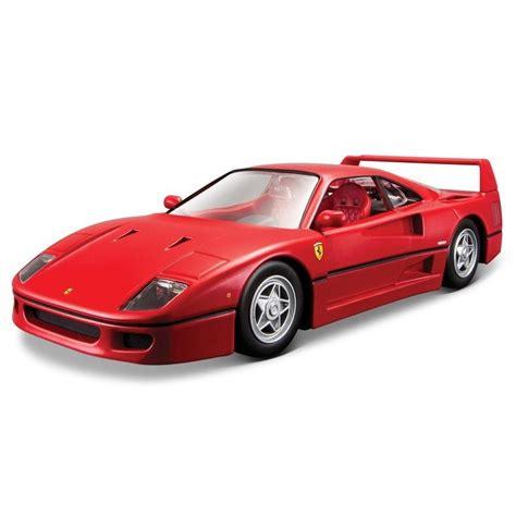 There will be a limited run of 1,000 units so get your car now. Miniatura Ferrari F40 Bburago 1/24 Ferro Diecast - R$ 120,00 em Mercado Livre