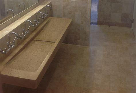 trough sink custom bathroom trough sink designs