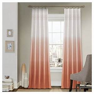 curtain panels vue signature gry ombre design target With ombre curtains pink
