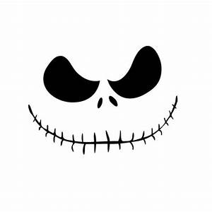 Jack Skellington Die Cut Vinyl Decal PV592