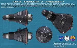 MR-3 Mercury 3 Freedom 7 ortho [2] [new] by unusualsuspex ...