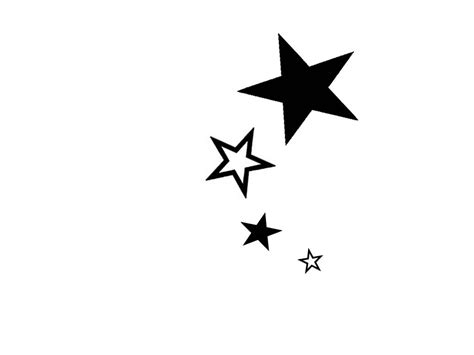 drawings  star tattoos clipartsco