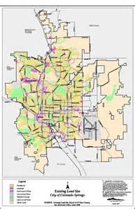 Colorado Springs Zip Code Map