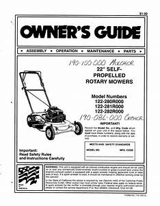 Bolens Lawn Mower 122