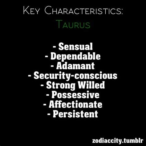 best qualities of a taurus key characteristics taurus taurus the bull and taurus