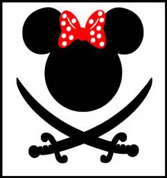 Mickey Mouse Pirate Head Clip Art