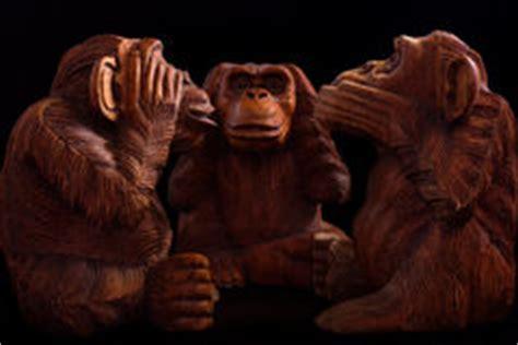 three wise monkeys stock royalty free