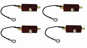 1967 Camaro Rs Headlight Limit Switch  Set Of 4  Correct