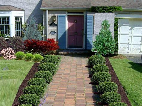 Modern Or Rustic Front Landscape Design?-safe Home