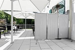 Windschutz Aus Holz : windschutz terrasse mit edelstahlparavent sonnensegel markise ~ Markanthonyermac.com Haus und Dekorationen
